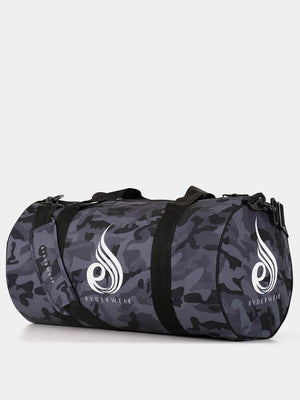 CAMO DUFFLE BAG BLACK CAMO