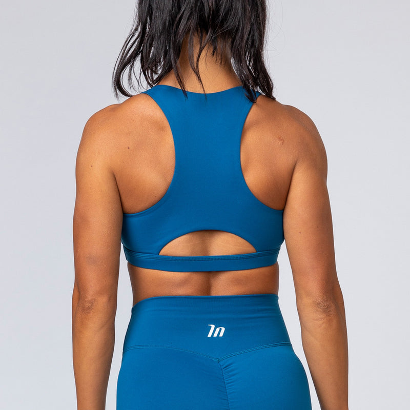 POWER BRA - AEGEAN BLUE