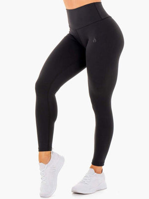MOTION HIGH WAISTED LEGGINGS BLACK