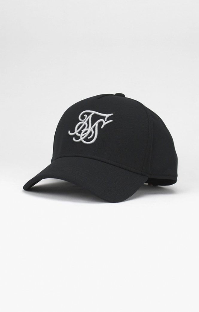 SikSilk  Bent Peak Sports Cap – Black