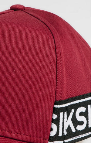 SikSilk Stretch Fit Full Trucker - Red