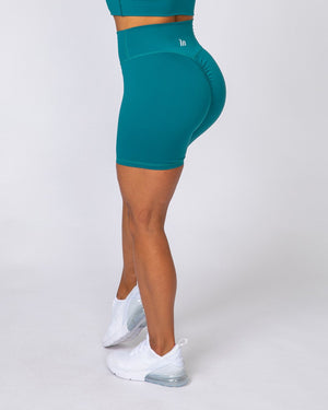 BIKE SHORTS - TEAL