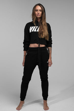 NIKKI TRACKSUIT PANTS - BLACK