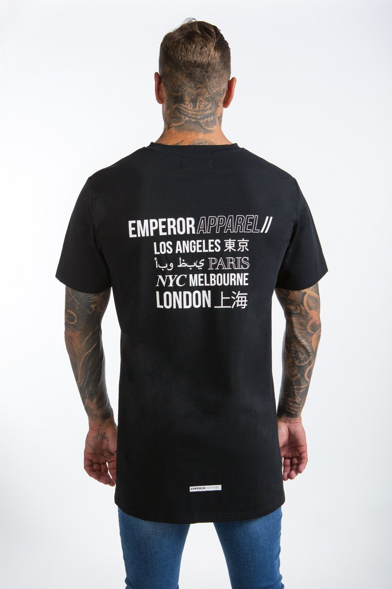 Worldwide T-Shirt (Black)