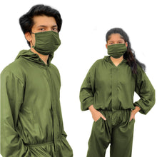 Load image into Gallery viewer, Mine4Nine - Protective Coverall - Abiti Bella 'Enklose' Unisex Blue/Grey/Olive Green Reusable Personal Protective Coverall