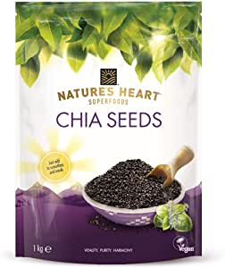 Nature's Heart Superfoods Chia Seeds 1kg