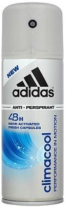 Adidas AntiPerspirant Deodorant Spray Climacool Grey 150 ml