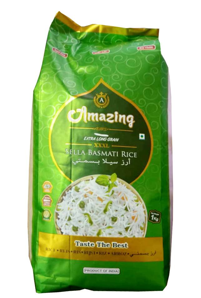 Amazing Sella Basmati Rice 1 kg