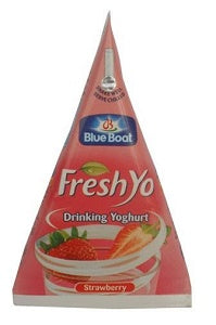 Blue Boat Fresh Yo Yoghurt Strawberry 11.5 cl