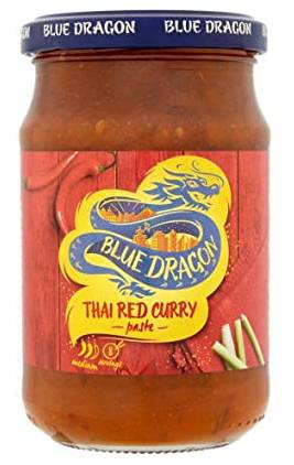 Blue Dragon Red Curry Paste 285 g