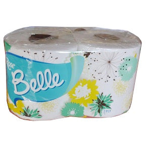 Boulos Rose Belle Toilet Tissue 2 Ply 2 Rolls