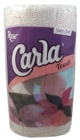 Boulos Rose Carla Kitchen Towel 2 Ply 1 Roll