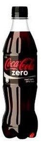 Coca Cola Coke Zero Pet Bottle 60 cl