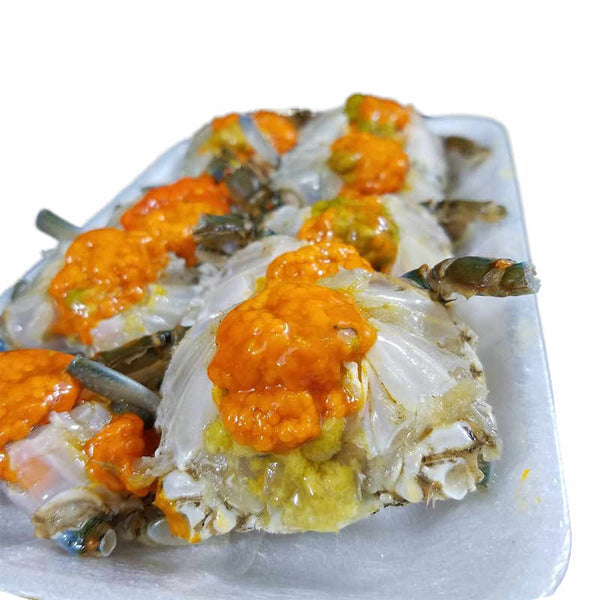 Fresh Crabs With Eggs Pack of 8