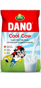 Dano Cool Cow Instant Filled Milk Powder Sachet 360 g