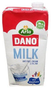 Dano UHT Full Cream Milk 1 L