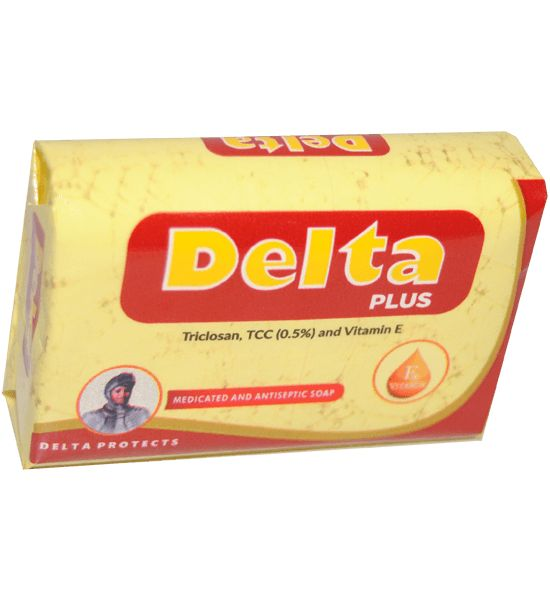 Delta Plus Medicated & Antiseptic Soap 70 g