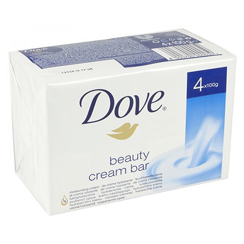 Dove Beauty Cream Bar 100 g x4