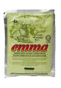 Emma Unsweetened Coconut Cream Powder 50 g