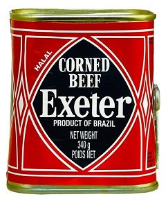 Exeter Corned Beef Product of Brazil 340 g