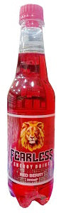 Fearless Energy Drink Red Berry 50 cl