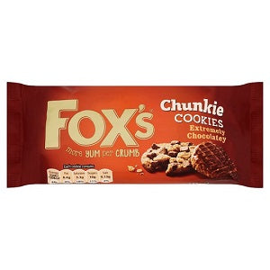 Fox's Chunkie Extremely Chocolatey Cookies 175 g