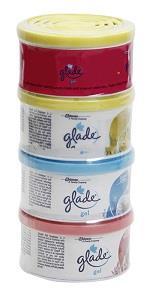 Glade Air Freshener Gel Assorted Fragrances 70 g