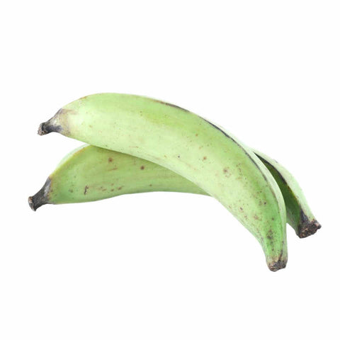Plantain/Green Unripe (One Bunch 6 Large pieces)