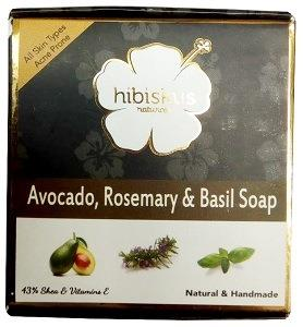 Hibiskus Soap Avocado Rosemary & Basil 125 g