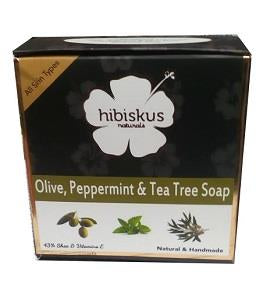 Hibiskus Soap Olive Peppermint & Tea Tree 125 g