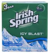 Irish Spring Soap Icy Blast 100 g 3 Bars