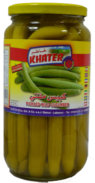 Khater Pickled Wild Cucumber 800 g