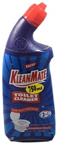 Kleanmate Toilet Cleaner 3 in 1 Blue 750 ml