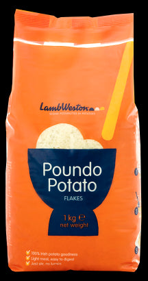 Lambweston Poundo Potato Flakes 1 kg