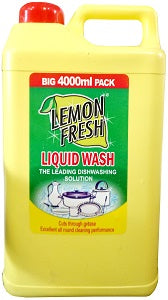 LB Lemon Fresh Liquid Wash 4 L