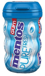 Mentos Chewing Gum Pure Fresh Mint 100 g x50