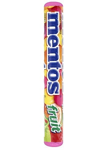 Mentos Chewy Dragees Fruit 37.8 g