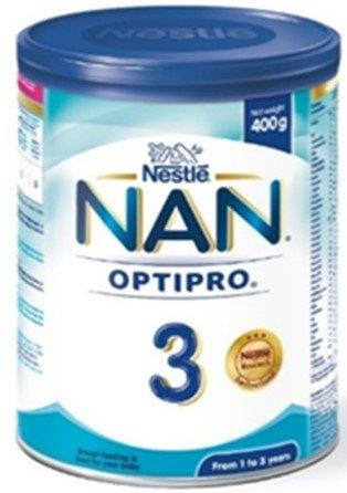 Nan 3 Optipro Growing Up Milk 13 Years 400 g
