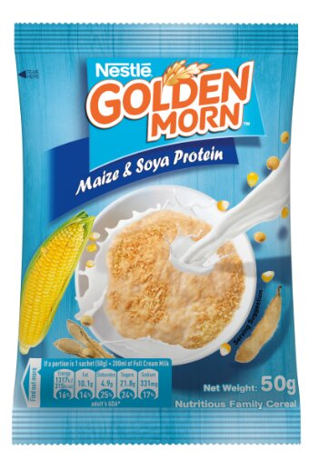 Nestle Golden Morn Maize & Soya 50 g x10