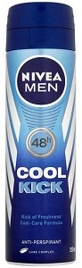 Nivea AntiPerspirant Deodorant Spray For Men Cool Kick 150 ml