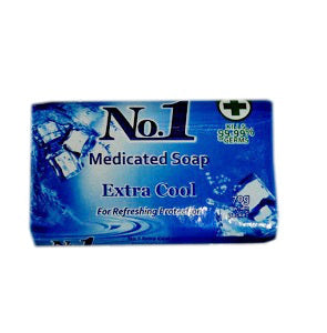 No.1 Medicated Soap Extra Cool 120 g