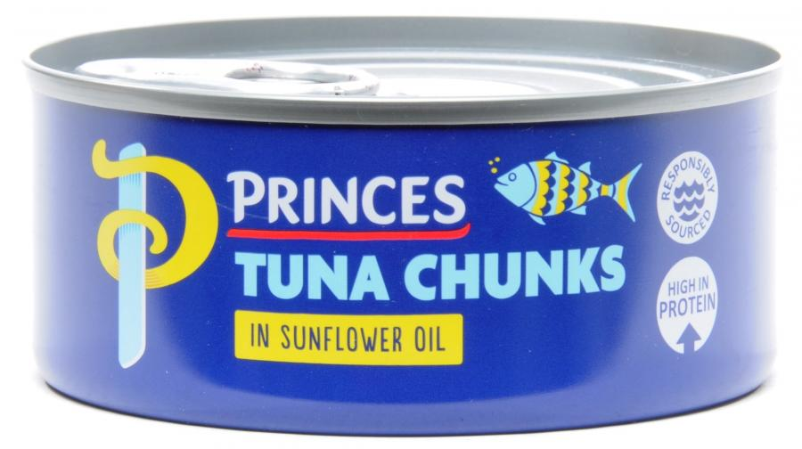 Princes Tuna Chunks In Sunflower Oil 160 g