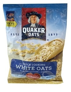 Quaker White Oats 40g