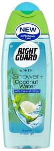 Right Guard Women Shower Gel With Coconut Water 250 ml