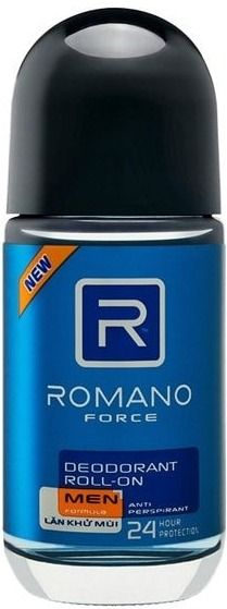 Romano Deodorant Roll On Force For Men 50 ml