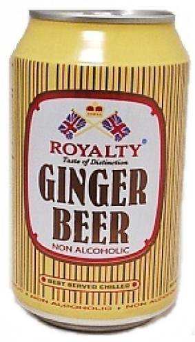 Royalty Ginger Beer Can 33 cl NonAlcoholic