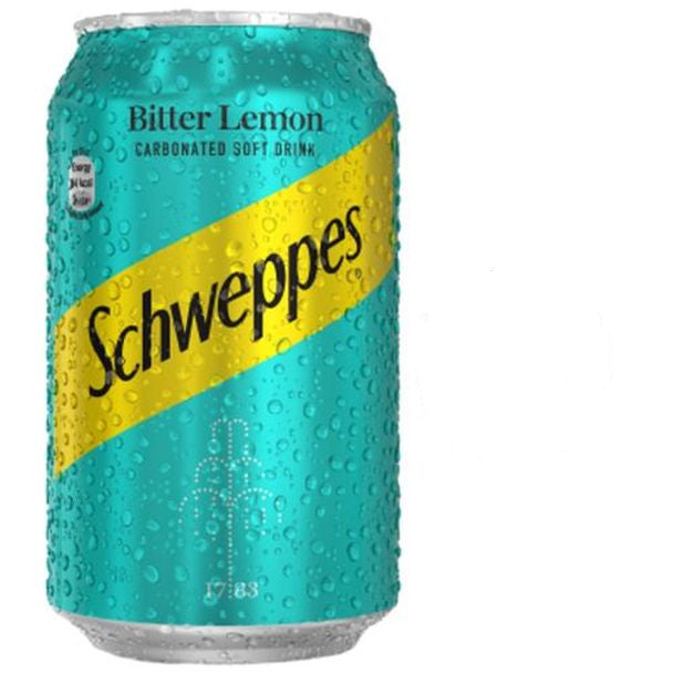 Schweppes Bitter Lemon Can 33 cl