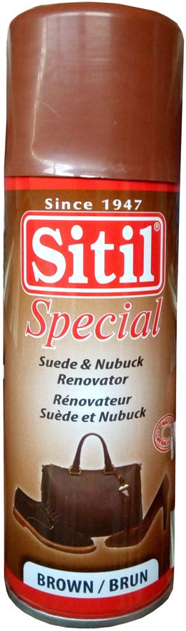 Sitil Special Suede & Nubuck Shoe Polish Renovator Brown 200 ml