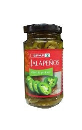 Spar Jalapenos Sliced & Pickled 220 g