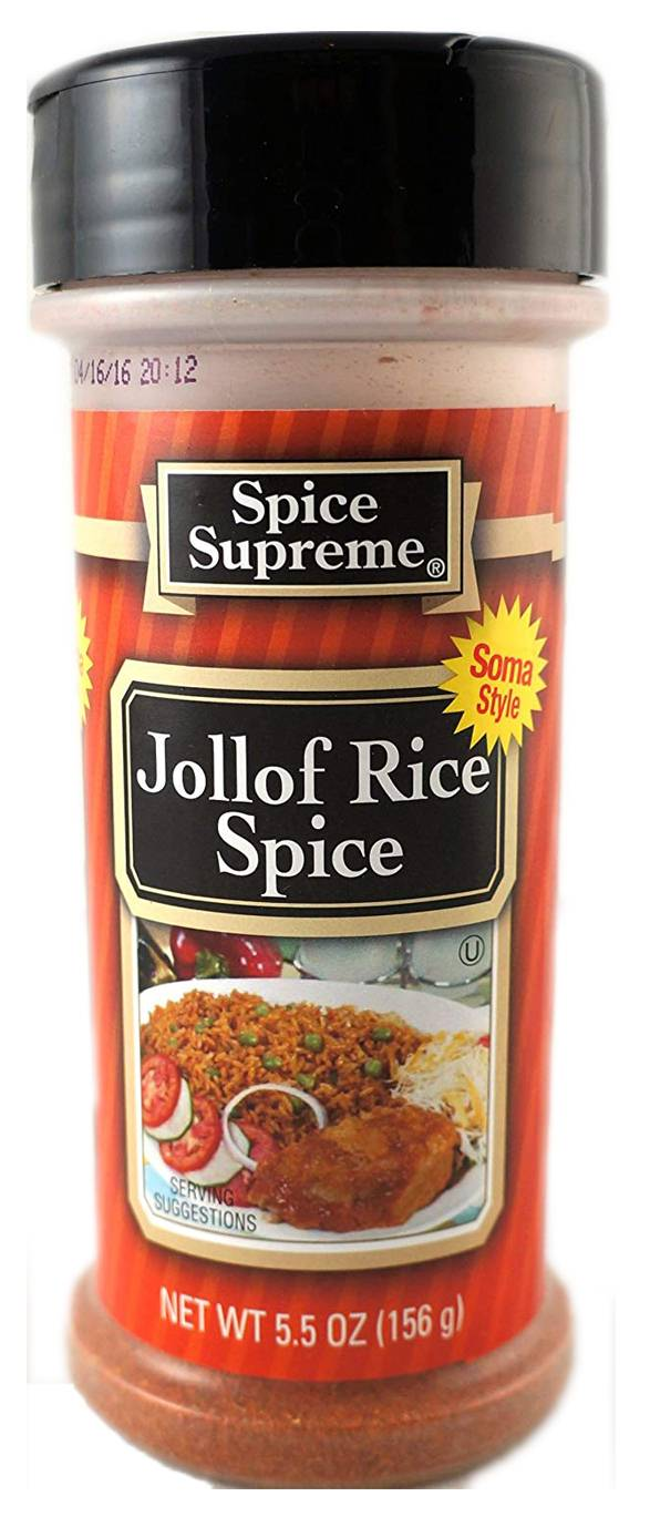 Spice Supreme Jollof Rice Seasoning Powder 156 g